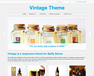 Not So Vintage Responsive Ecommerce Theme