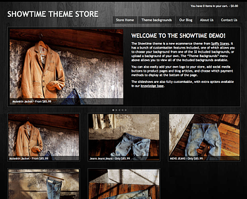 Showtime - Black woodgrain