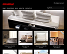 Minimal Responsive Ecommerce Theme - Black & red